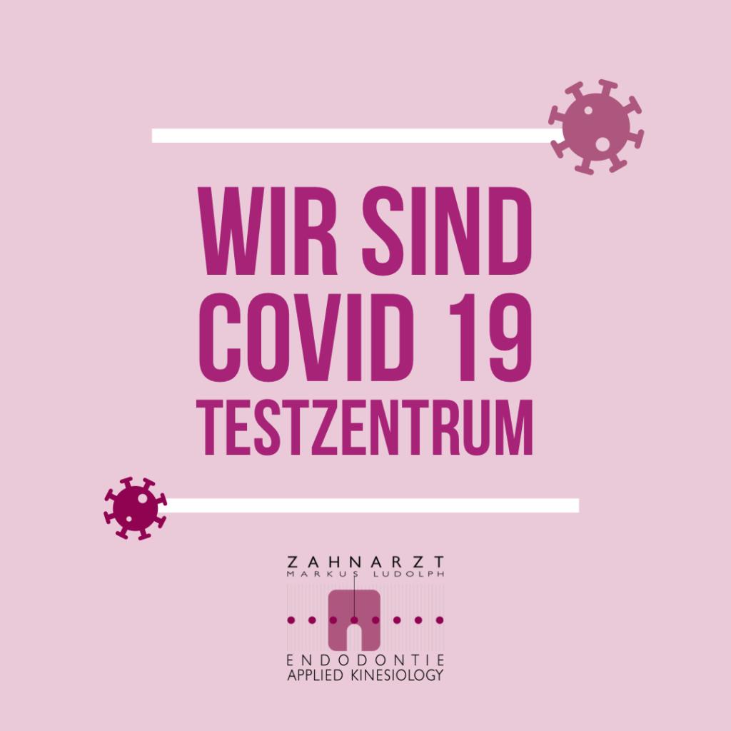 COVID 19 Testzentrum